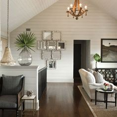 Image result for clapboard ceiling white