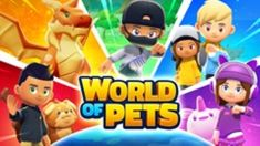 Adventure Awaits in World of Pets - FANDOM FARE KIDS GAMING Video Game Development, Simulation Games, Animal Games, White Dogs, Animals Of The World, Adventure Awaits, Free Games, Games For Kids, Mobiles