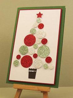 60 Handmade Christmas Cards 2016 – I love Pink
