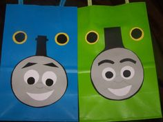 #Thomas the Train inspired goody bags by 1craftymamaboutique, $10
