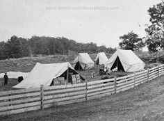 Gettysburg, Pennsylvania. Camp of Captain John J. Hoff. Commissory of Subsistance. Date Created/Published: 1865 July.