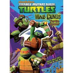 Teenage Mutant Ninja Turtles Wall Clings: Turtle Power