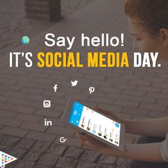 Stay connected to stay updated. #SocialMediaDay
