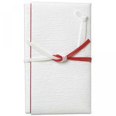 こち金封 檀紙 紅白5本結切 寿 1260yen 贈る人の心を包むのし袋
