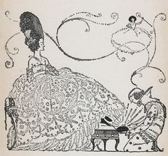 Harry Clarke Andersen's Fairy Tales Illustrated Print - Cinderella by vintagegoodness, via Flickr