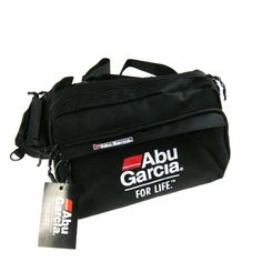 ABU GARCIA Waist Tackle Bag Waterproof fabrics pockets