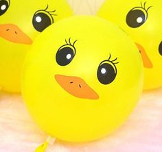 New 12 inch Lovely Yellow Duck Christmas Party Ballons Birthday Balloons Ducky Baby Showers, Baby Shower Duck, Rubber Ducky Baby Shower, Baby Shower Yellow, Baby Shower Gender Reveal, 12th Birthday, 1st Birthday Girls, 2nd Birthday Parties, Birthday Balloons