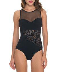 Gottex | Rainforest High-neck One-piece Swimsuit |  Lyst