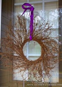 Lent decorations & activities at On The Way Home