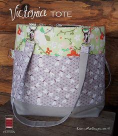 Tote bag sewing pattern