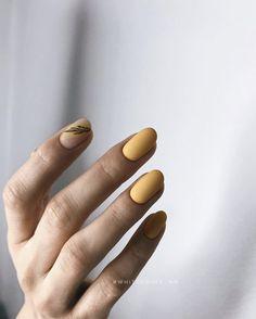 Hair And Nails, My Nails, Nail Care Tips, Yellow Nails, Tips Belleza, Creative Nails, Nails Magazine, Simple Nails, Nails On Fleek