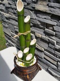 Vaso portacandele in bambu' - Giardino e Fai da te In vendita a Como
