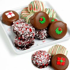 USA Chocolate - Christmas Oreo Cookies