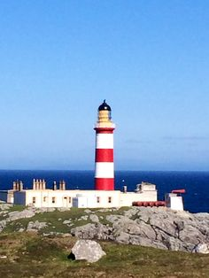 Eilean glas lighthouse, Scalpay, Western Isles
