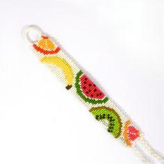 Fruit Salad Friendship Bracelet - Made to Order