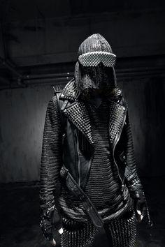 #byther #stud #custom #gothic #unique #rock #punk #black #darkwear #byther #lookbook