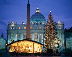 Christmas Eve Mass...at the Vatican, celebrated by The Pope