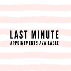 Last minute openings tomorrow morning/early afternoon June Msg me or call Chroma Salon if interested in booking a hair appointment. Hairdresser Quotes, Hairstylist Quotes, Hair Salon Quotes, Hair Quotes, Tech Quotes, Salon Business, Business Stamps, Business Ideas, Last Minute