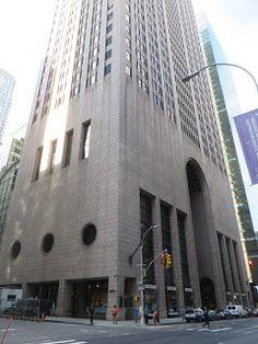Philip Johnson | Edificio AT&T hoy Edificio Sony | Nueva York, Estados Unidos | 1984
