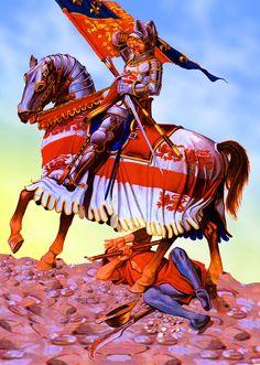 Sir John Codrington, Standard Bearer to King Henry V at Agincourt