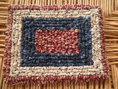 Americana Pot Holder / Hot Pad 65 x 75 by CountryNeccessities, $13.00