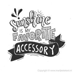 Sunshine is my favorite accessory.