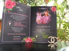 Royal Blue Navy Wedding Invitation