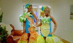Pineapple dress. :D