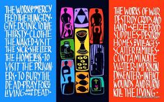 Works of Mercy <3 Catholic Worker Movement grounded in Christ's teachings on love and compassion