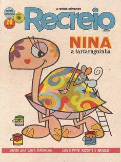 Revista Recreio 20 - Nina, a tartaruguinha
