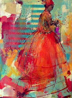 Tu recepcja — turecepcja: Paintings by Danuta Jaworska Born in. Abstract Portrait, Portrait Art, Abstract Art, Abstract Painting Techniques, Figurative Kunst, People Art, Art Plastique, Figure Painting, Figure Drawing