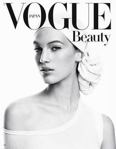 Vanessa Axente - Vogue Beauty Magazine Cover [Japan] (January 2013)