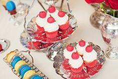 Mesa de doces branca de neve - Catch My Party