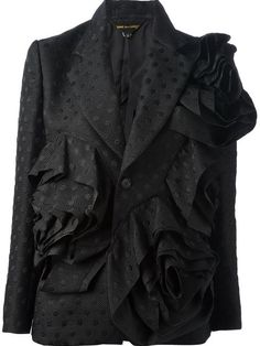 Shop Comme Des Garçons flower blazer in The Parliament from the world's best independent boutiques at farfetch.com. Over 1000 designers from 60 boutiques in one website.