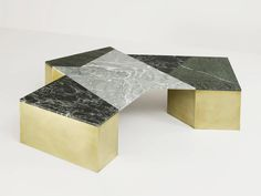 Brian Thoreen Mixed Marble Coffee Table