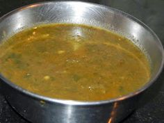 Delicious Healthy Home Made Indian Food Recipes: Kannadiga Recipes : Soppu Saru Indian Veg Recipes, Healthy Food, Healthy Recipes, Green Curry, Lunch Menu, Spices, Appetizers, Homemade, Dinner