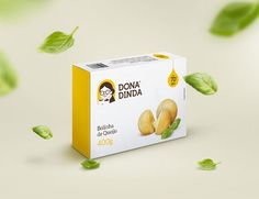 Dona Dinda's Frozen Food Box Designs Blend Tradition and Modernity #minimalist trendhunter.com