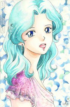 Michiru from #Sailormoon  Anime