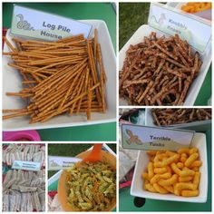 Gruffalo party - loads of food ideas and activities