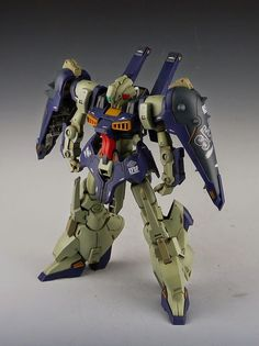 Painted Build: Studio Reckless 1/144 Dijeh SE-R - Gundam Kits Collection News and Reviews