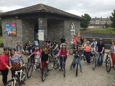 Now for a cycle tour of #Kilkenny