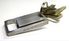 KeySquare-Key chain bottle opener.