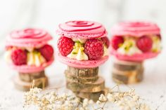This beautiful petit macaron gâteau, handmade by the incredible macaronmanufaktur.at, do not only look good, they taste like a mix of raspberry and heaven. The macaron part is made of crème de jour rose with a core of raspberry jam. The filling consists of fresh raspberry together with whipped cream and chopped pistachios. I wanted to transfer the heavenly taste into the picture and chose a bright straightforward look. shot and styled by wolfgang rada food photographer www.wolfgangrada.com Pistachios, Whipped Cream, Macarons, Heavenly, Food Photography, Raspberry, Core, Awards, The Incredibles