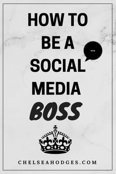TAKE THE FREE 4 DAY CHALLENGE TODAY! Learn how to be a social media BOSS and implement my strategies that got me from 0 to 1k followers! www.chelseahodges.com