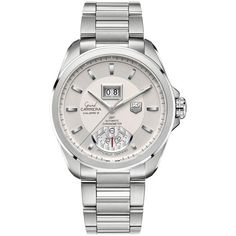 TAG Heuer Grand Carrera Chronograph, Calibre as worn by Matthew McConaughey Fine Watches, Cool Watches, Men's Watches, Wrist Watches, Black Watches, Leather Watches, Patek Philippe, Tag Heuer, Devon
