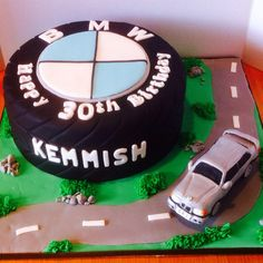 My BMW cake , you can even eat the car