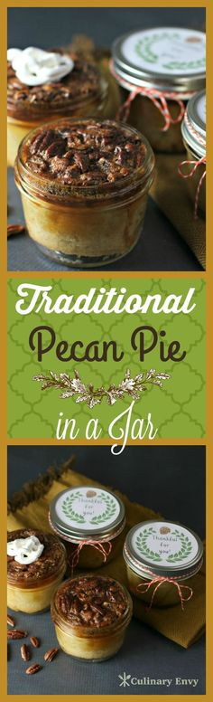 Traditional Pecan Pie in a Jar                                                                                                                                                                                 More