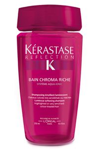 Best Shampoo ever!  The hair fiber is gently cleansed and protected from external aggressions. Hair feels moisturized and supple to the touch with added softness and shine.
