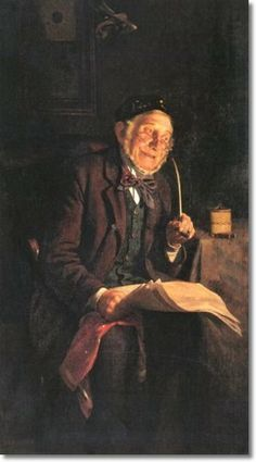 Charles Spencelayh - 'Darby'.