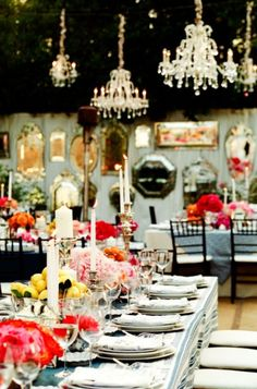 dinner party dreaming